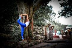 yoga india street